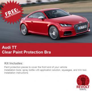 2016 – Audi TT PreCut Clear Paint Protection Bra Kit