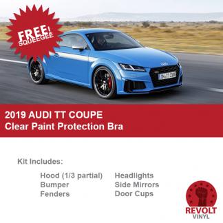 2019 Audi TT Coupe Pre Cut Clear Paint Protection Bra Kit