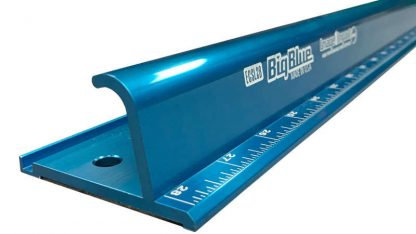 Big Blue Safety Ruler