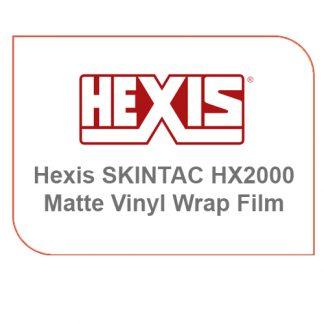 Hexis Skintac HX20000 Matte Vinyl Wrap Film