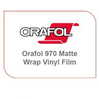 Orafol 970 Matte Wrap Vinyl Film