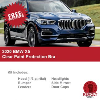 2020 BMW X5 Pre Cut Clear Paint Protection Bra Kit