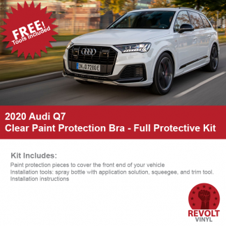 2020 Audi Q7 Clear Paint Protection Kit – Full Bra