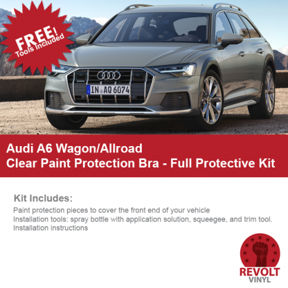 Audi A6 Wagon Allroad Paint Protection Full Bra Kit