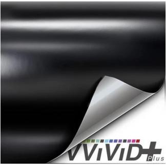 VViViD Satin Black Vinyl Wrap Film