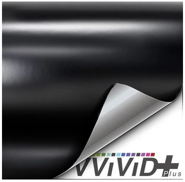 VViViD Satin Black Vinyl Wrap Film